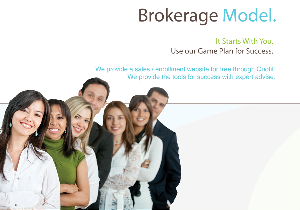 What is a brokerage business model